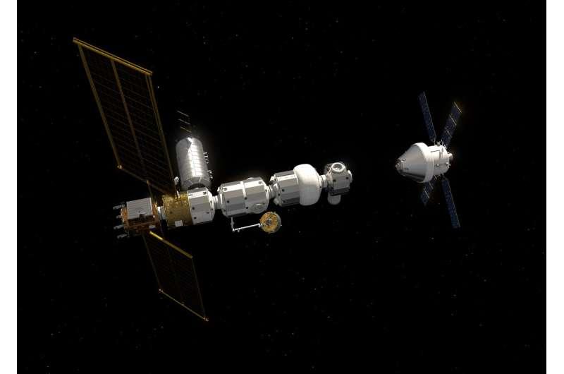 Angelic halo orbit chosen for humankind's first lunar outpost
