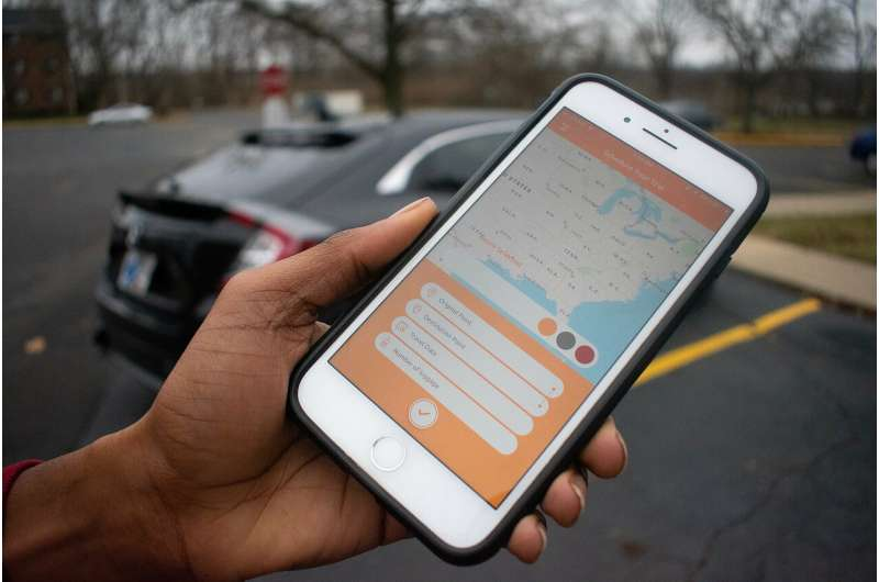 App aims to make ride sharing easier