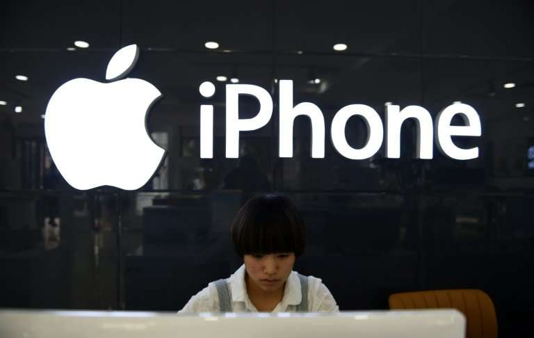 "Apple said iPhone sales in China would be lower than forecast due to steeper than expected ""economic deleration"""