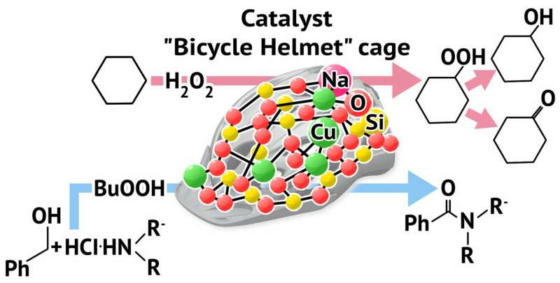 A RUDN Chemist Developed a New Catalyst for Oxidation and Amidation