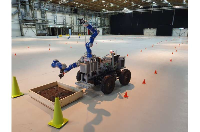 Astronauts to test drive a lunar robot from the space station