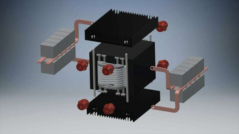A transformer to drive the transition from AC to DC