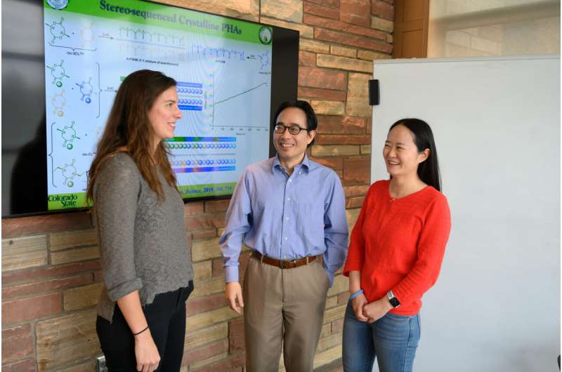 Chemists create new route to PHAs: naturally degradable bioplastics