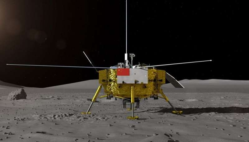 China's Yutu-2 rover is on the move on the far side of the moon