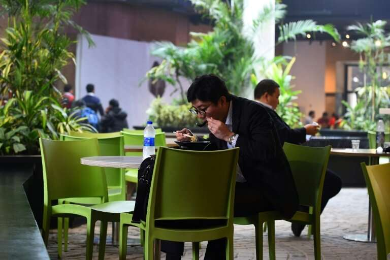 Delhi's eco-eateries, offering cleaner air as well as modern menus to the well heeled are beyond reach for the poor, who have li