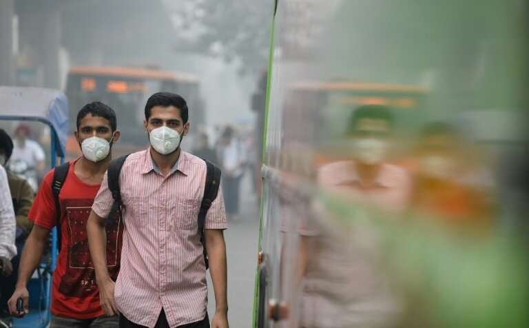 Delhi's smog peaks from October to February, routinely exceeding WHO recommendations for PM2.5—tiny and harmful airborne particl