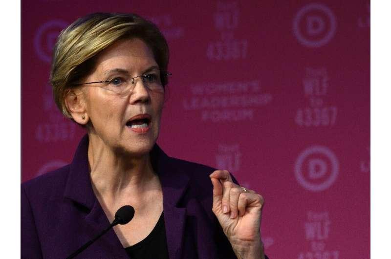 Democratic presidential hopeful Senator Elizabeth Warren said Facebook's policy of leaving political misinformation unchecked is