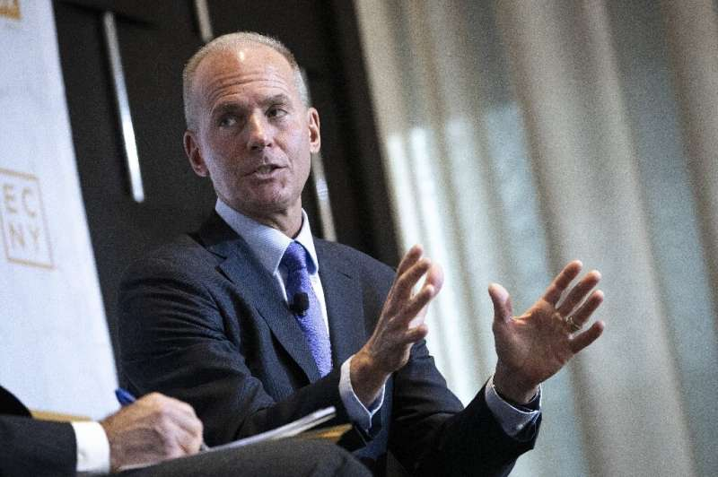 Dennis Muilenburg will remain chief executive of Boeing and a director, but will no longer be chairman of the board
