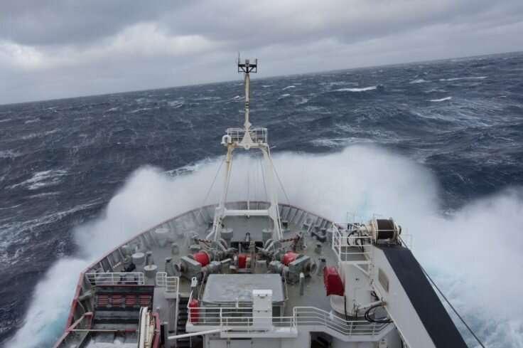 Dense Antarctic water returning to the Atlantic