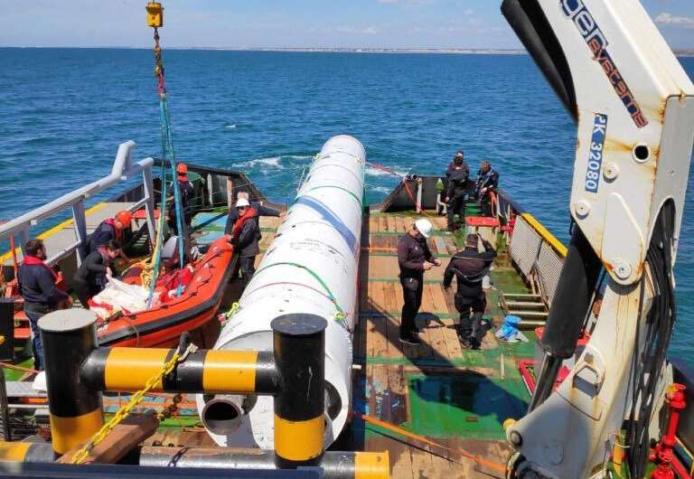 Drop test proves technologies for reusable microlauncher