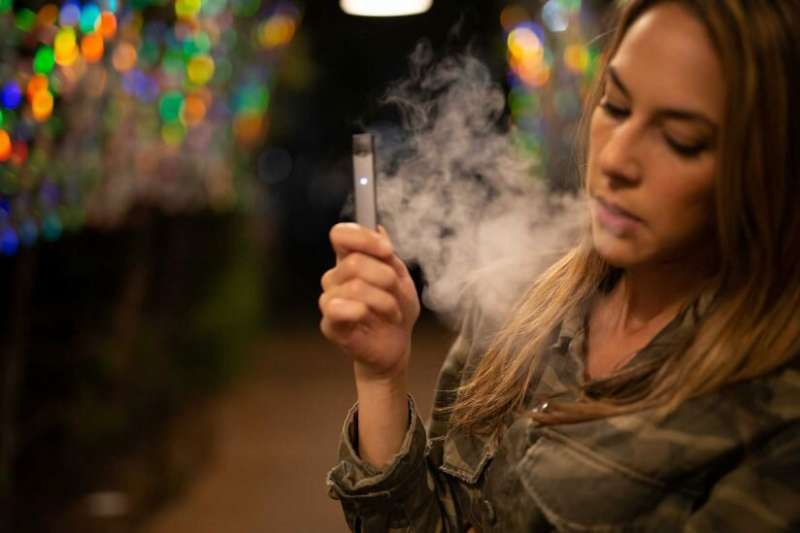 E-cigarette users show cancer-linked genetic changes