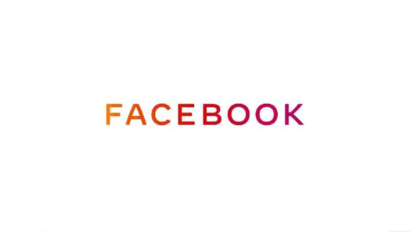 Facebook unveiled a new brand logo that seeks to distinguish between the company which owns several applications and products an