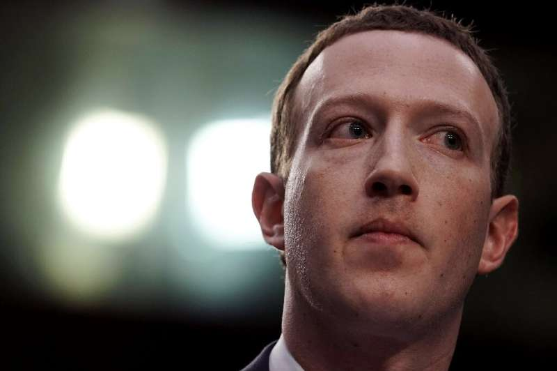 Facebook, whose CEO Mark Zuckerberg is seen here, said it set aside some $3 billion for an expected settlement with US regulator
