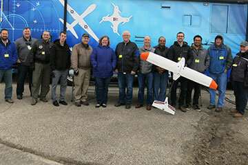First flight success for drone-sized electric aircraft
