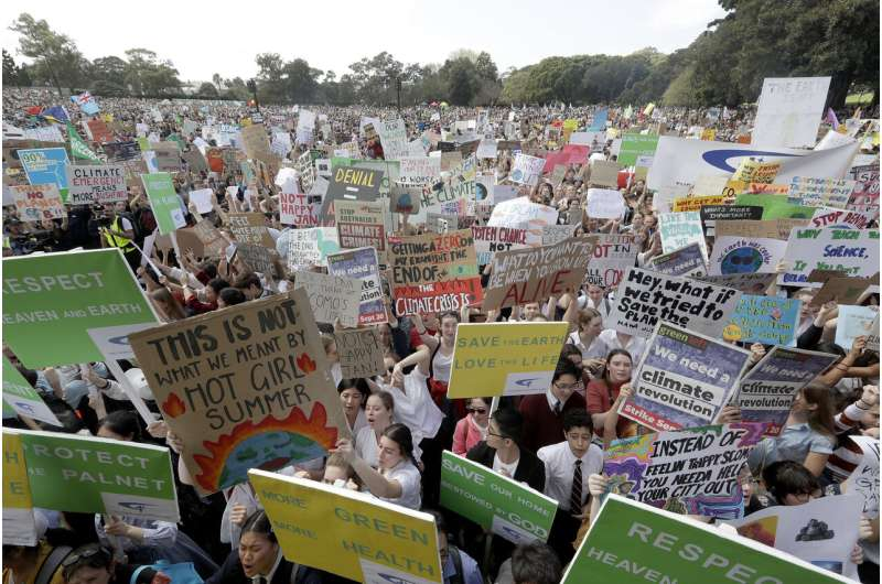 From Australia to Europe, climate protesters hit the streets