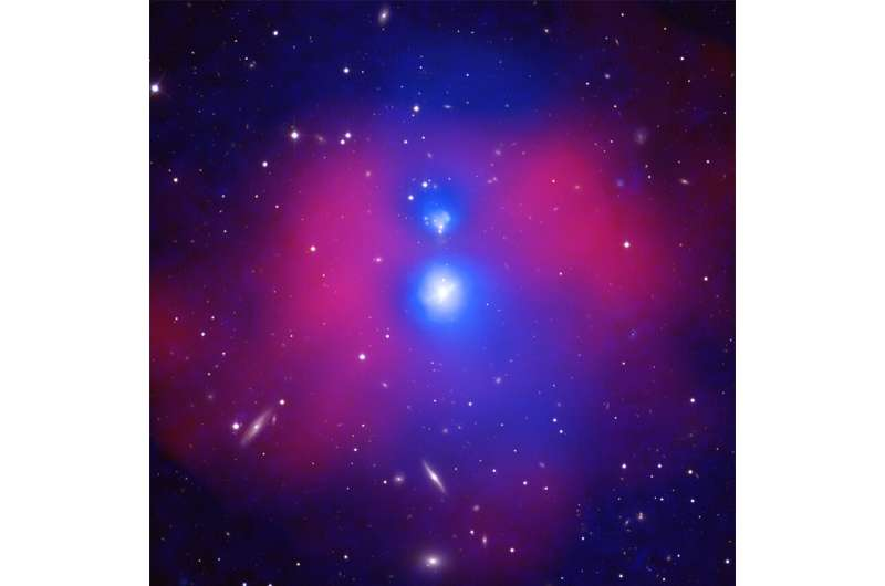 Galaxy gathering brings warmth
