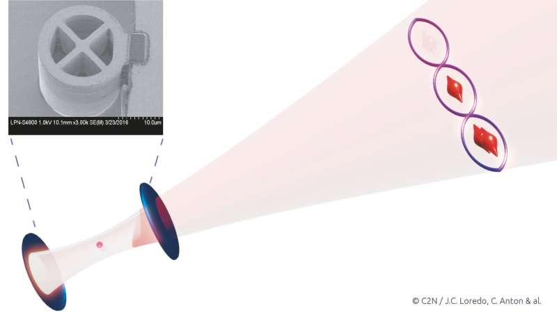 Generation of light in a photon-number quantum superposition
