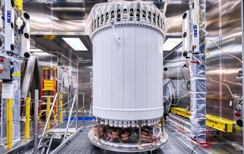 Global team of scientists finish assembling next-generation dark matter detector