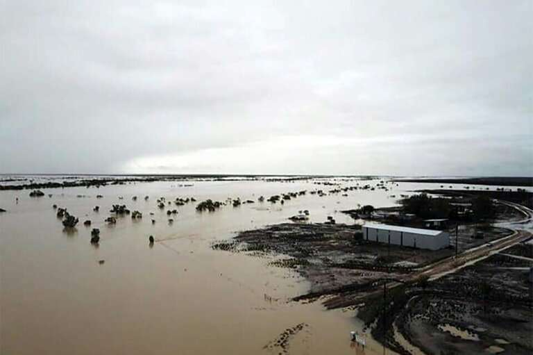 Heavy rains have flooded swathes of Queensland state, with the full scale of the devastation on drought-hit cattle stations beco