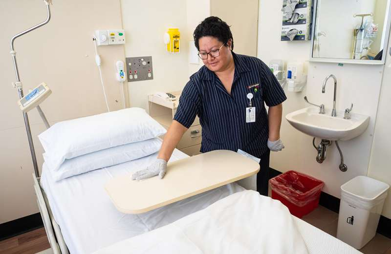 Hospital cleaning trial cuts infections