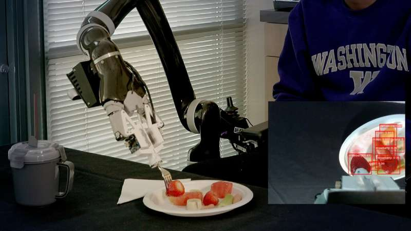 How to train your robot (to feed you dinner)