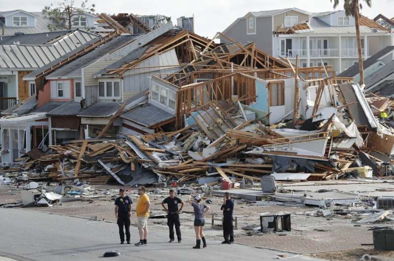 Hurricane Michael gets an upgrade to rare Category 5 status