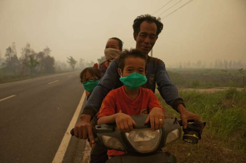 Indonesia's huge fires and toxic haze will cause health problems for years to come