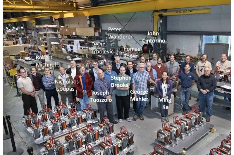 Innovative magnets for new energy-recovery accelerator