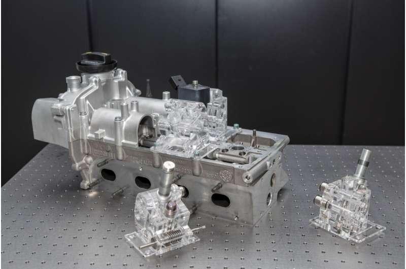 Innovative valve train saves 20% fuel