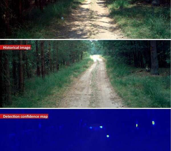 Intelligent camera automatically detects roadside bombs
