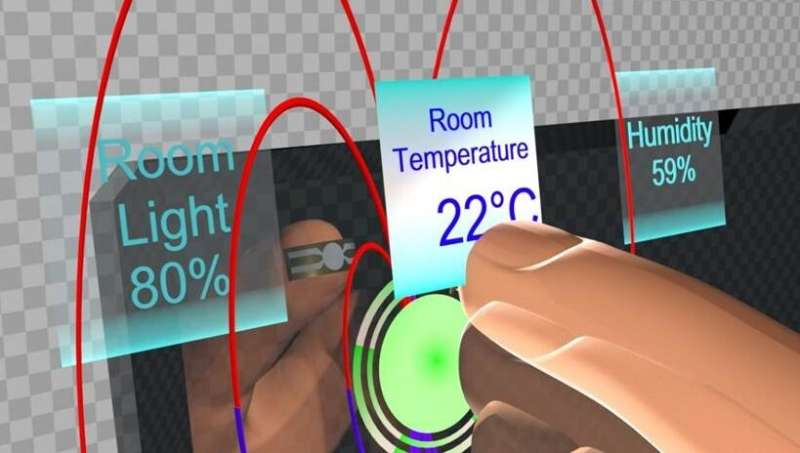 Intuitive in virtual reality