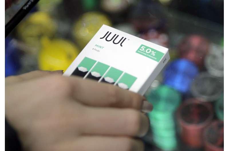 Juul halts sales of mint, its top-selling e-cigarette flavor