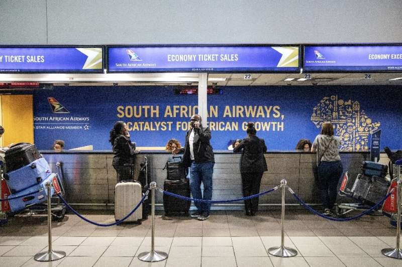 Loss-making South African Airways has secured a state-led rescue