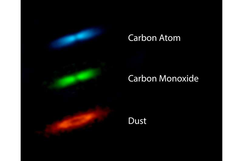 Massive gas disk raises questions about planet formation theory