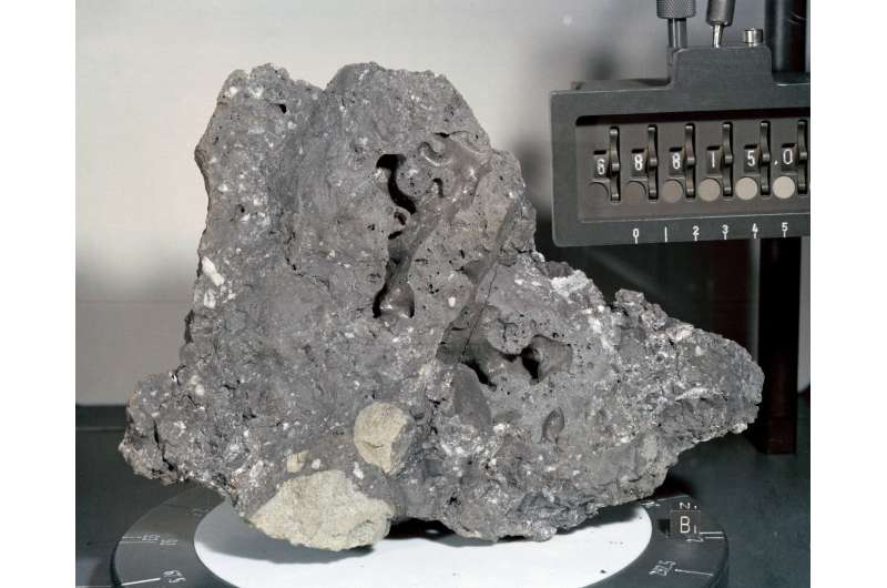 Moon samples help scientists study ancient sun