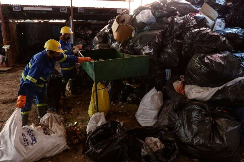 Mountaineers warn that this year's clean-up collected just a fraction of the rubbish on Mount Everest