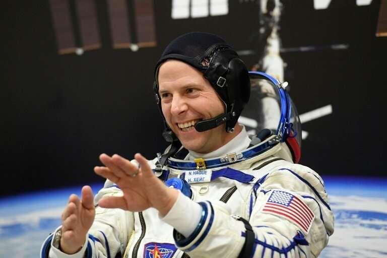 NASA astronaut Nick Hague said he was looking forward to the flight