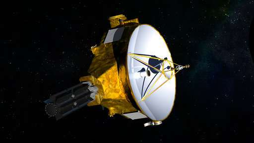 NASA spacecraft opens new year at tiny, icy world past Pluto