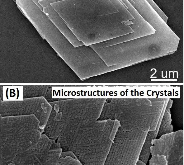 New substance can form in the OA process of crystal growth, new study reveals
