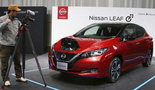 Nissan unveils new Leaf car after Ghosn's arrest delays it
