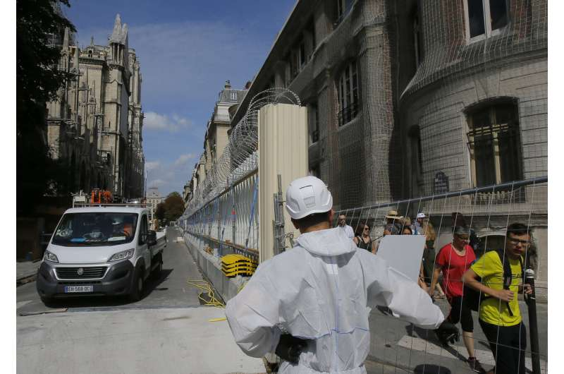 Notre Dame: Lead fears prompt new cleanup rules, equipment