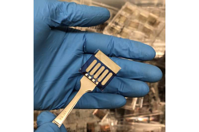Novel Solar Cells Arrive at International Space Station for Testing