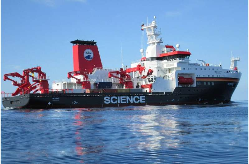 Occurrence and fate of microplastic in the marine environment / MICRO-FATE project starts with Pacific Ocean expedition