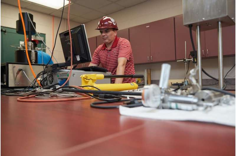 OU researchers developing new methods and smart wellbore materials for geothermal drilling
