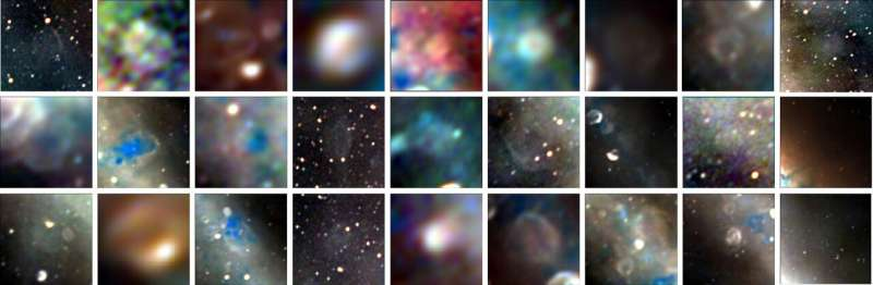 Outback telescope captures Milky Way center, discovers remnants of dead stars