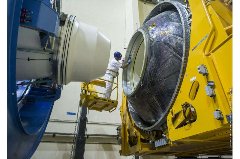 P120C solid rocket motor tested for use on Vega-C
