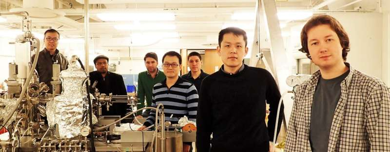 Princeton physicists discover topological behavior of electrons in 3D magnetic material
