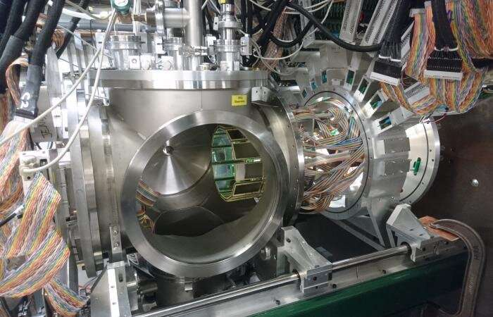 Products of nuclear transmutations are spotted with unprecedented detail
