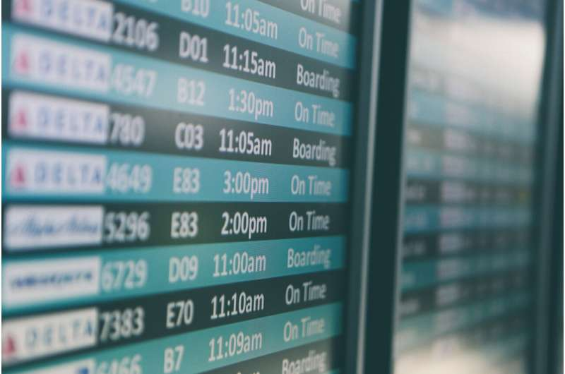 Quantum simulation could help flights run on time