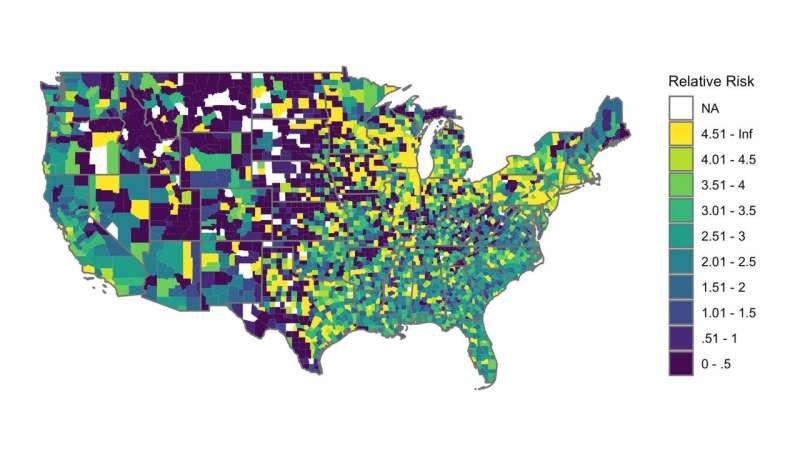 Racial bias associated with disparities in disciplinary action across U.S. schools